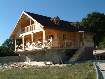 Дървени къщи галерия